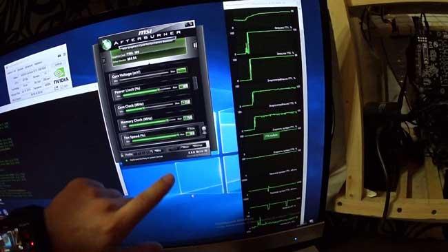 В тестировании использовалась 1080 ti msi gaming x