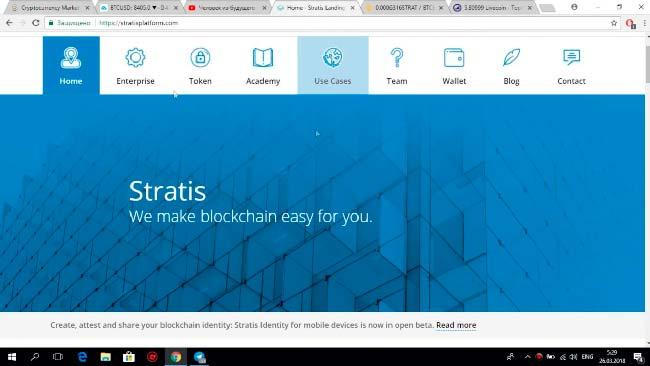 кошелек криптовалюты Stratis (STRAT)