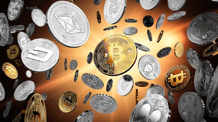 монеты криптовалют (биткоин)